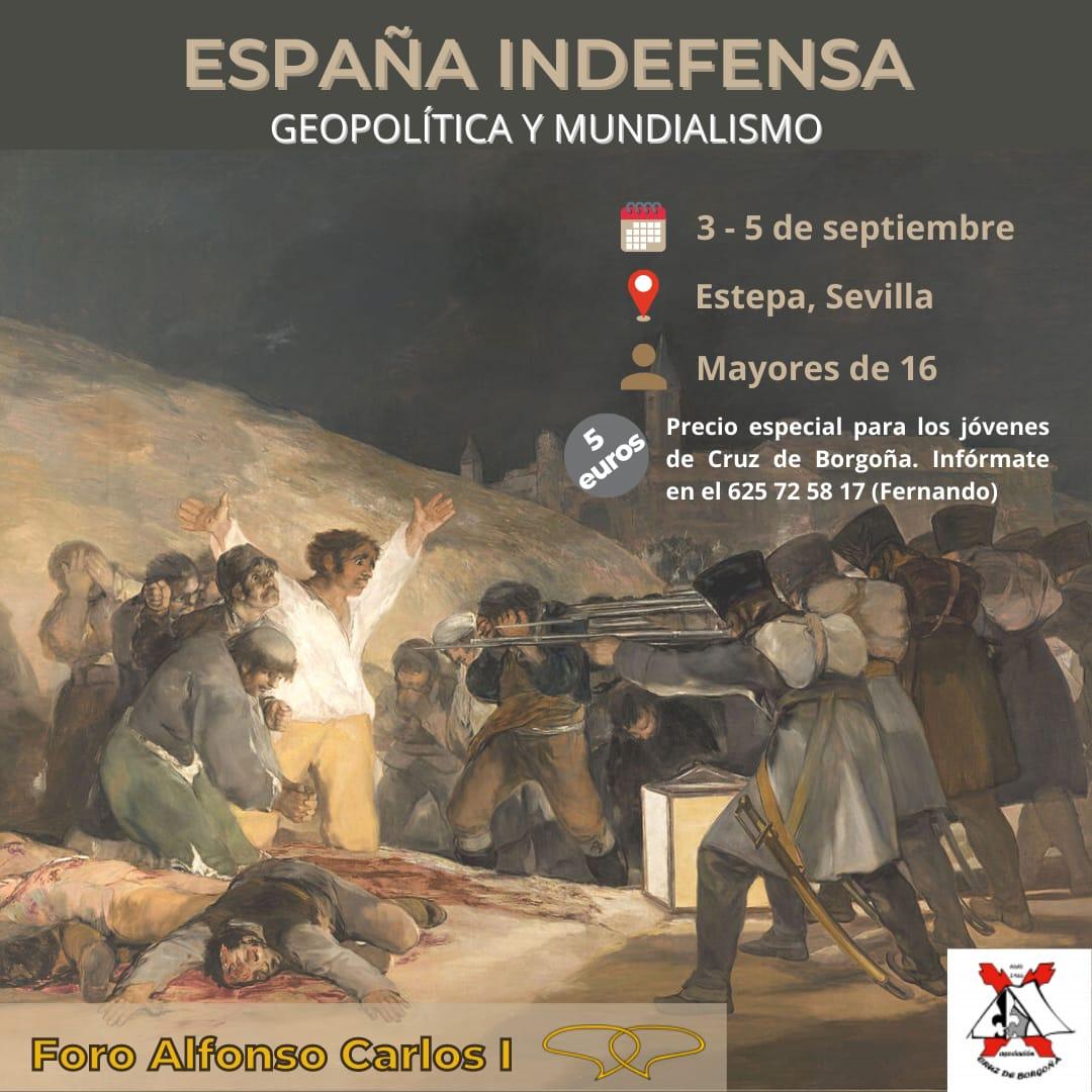 Foro Alfonso Carlos I 2021